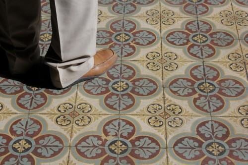 History of cement tiles