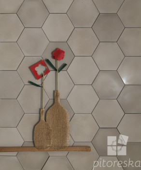 large format cement tiles cast concrete alternative