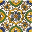 Tunisian hand painted tiles
