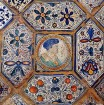 Historic hand painted tiles