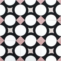 cement tiles - contemporary pattern