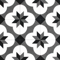 cement tiles - traditional pattern