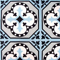 cement tiles - antique pattern