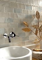 small sized decorative tiles rustic
