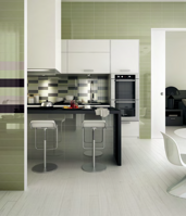 modern kitchen small sized decorative tiles
