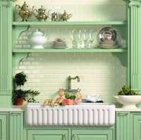 stylish kitchen traditional elegant tiles