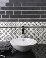 stylish bathroom traditional elegant tiles