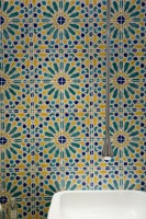 hand painted tiles decorative