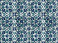 rucne malovany obklad hand painted oriental tiles