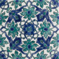 rucne malovany orientalny obklad hand painted oriental tiles