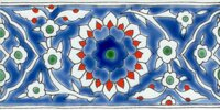 hand painted oriental tiles