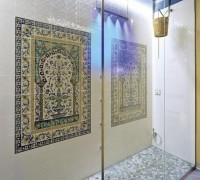 hand painted tiles murals