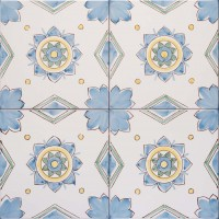 classic italian hand painted tiles