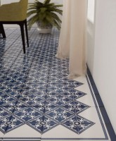 classic hand painted tiles