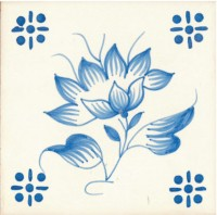 traditional hand painted tiles azulejo