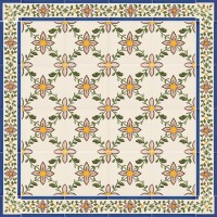 hand painted tiles - traditional