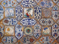 hand painted tiles renaissance