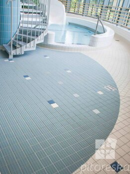 small sized porcelain tiles vitrified ceramic tiles antislip floor pool